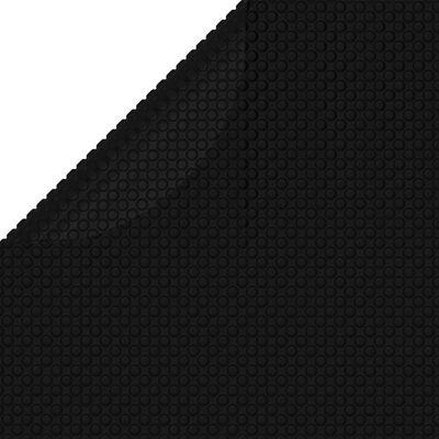 vidaXL Pokrivač za bazen crni 527 cm PE