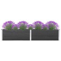 vidaXL Vrtna posuda za sadnju 300 x 50 x 54 cm WPC siva