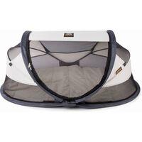 DERYAN prigodni putni krevetić Baby Luxe s mrežom za komarce krem