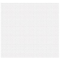 vidaXL Vrtna mrežasta ograda od nehrđajućeg čelika 50x50 cm 31x31x3 mm