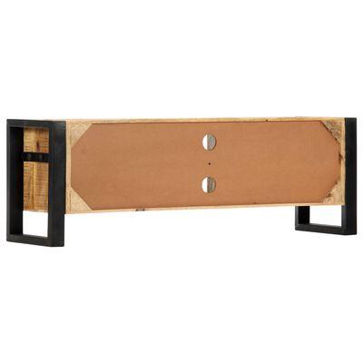 vidaXL TV ormarić od masivnog drva manga 120 x 30 x 40 cm