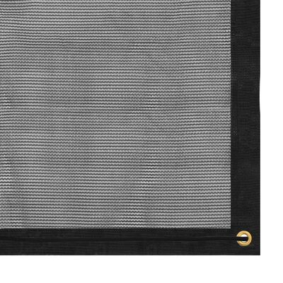 vidaXL Mreža za prikolicu HDPE 1,5 x 2,7 m crna