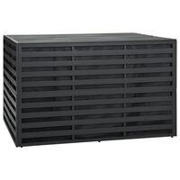 vidaXL Vrtna kutija za pohranu aluminijska 150 x 100 x 100 cm antracit
