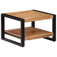 vidaXL Stolić za kavu od masivnog bagremovog drva 60 x 60 x 40 cm