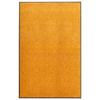 vidaXL Otirač perivi narančasti 120 x 180 cm