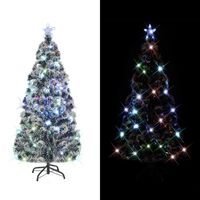 vidaXL Umjetno Božićno drvce sa stalkom/LED 150 cm 170 grančica