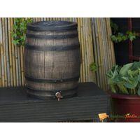 Nature bačva za kišnicu s izgledom drva 50 L 38 x 49,5 cm smeđa