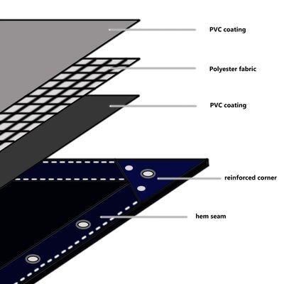 vidaXL Cerada 650 g/m² 1,5 x 6 m zelena