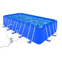 Swimming Pool with Pump Steel 540 x 270 x 122 cm (90532+90562)
