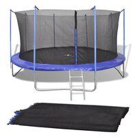 vidaXL Sigurnosna mreža za okrugli trampolin od 3,66 m