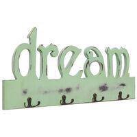 vidaXL Zidna vješalica za kapute DREAM 50 x 23 cm