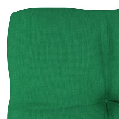 vidaXL Jastuk za sofu od paleta zeleni 58 x 58 x 10 cm