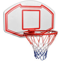 vidaXL Trodijelni Zidni Set za Košarku 90x60 cm