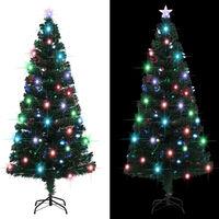 vidaXL Umjetno božićno drvce sa stalkom LED 180 cm 220 grančica