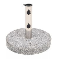 vidaXL Stalak za Suncobran Granit Okrugli 22 kg
