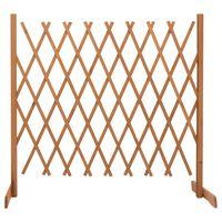 vidaXL Vrtna rešetkasta ograda narančasta 180x100 cm masivna jelovina