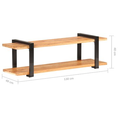 vidaXL TV ormarić od masivnog drva manga 130 x 40 x 40 cm