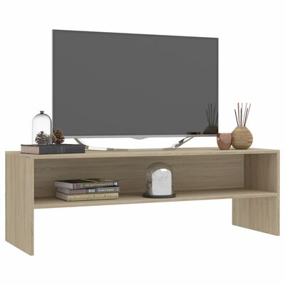vidaXL TV ormarić od iverice boja hrasta sonome 120 x 40 x 40 cm