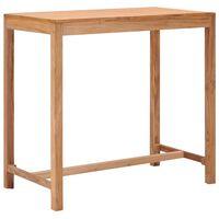 vidaXL Vrtni barski stol 110 x 60 x 105 cm od masivne tikovine
