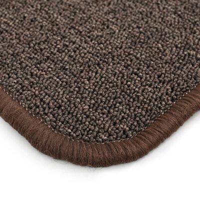 vidaXL Čupavi tepih 80 x 150 cm smeđi