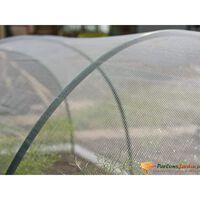 Nature mreža protiv insekata 2 x 10 m prozirna