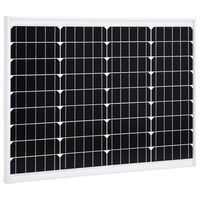vidaXL Solarna ploča monokristalna 50 W aluminij i sigurnosno staklo