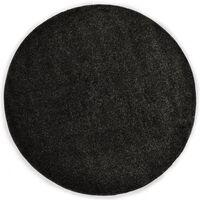 vidaXL Čupavi ukrasni tepih 67 cm antracit