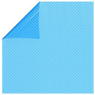 vidaXL Pravokutni pokrivač za bazen 600 x 400 cm PE plavi