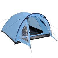 vidaXL Šator za 3 osobe plavi