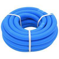 vidaXL Crijevo za bazen plavo 38 mm 12 m