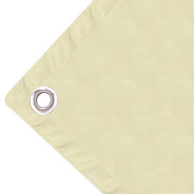 vidaXL Balkonska Zaštita Oxford Tkanina Krem boje 90x600 cm