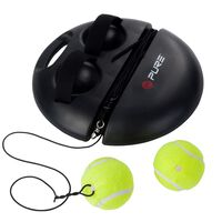 Pure2Improve set za vježbanje tenisa crni P2I100180