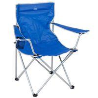 Bo-Camp sklopiva stolica za kampiranje čelična plava 1267188