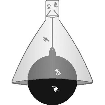 Kerbl Zamka za obade TaonX pocinčano željezo bijelo- crno 323520