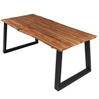 vidaXL Blagovaonski stol 170 x 90 x 75 cm od masivnog bagremovog drva