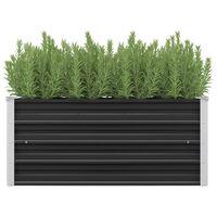 vidaXL Vrtna sadilica antracit 100 x 40 x 45 cm od pocinčanog čelika
