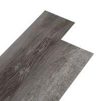 vidaXL Podne obloge od PVC-a 5,02 m² 2 mm samoljepljive prugasto drvo