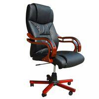 Luksuzna uredska stolica - Crna