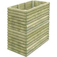 vidaXL Garden Raised Bed 106x56x96 cm Impregnated Pinewood