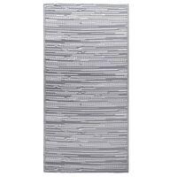 vidaXL Vanjski tepih sivi 160 x 230 cm PP