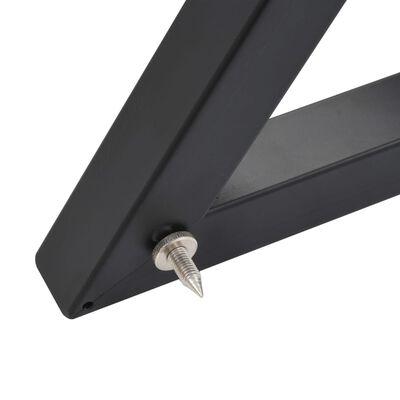 vidaXL Stalci za zvučnike i studijske monitore 2 kom crni čelični