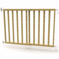 Noma produžna sigurnosna ograda 63,5 - 106 cm prirodna boja drvena
