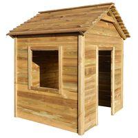 vidaXL Vrtna kućica za igru 123 x 120 x 146 cm od borovine
