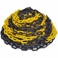 30 m Plastični Lanac za upozorenje Žuto-crni