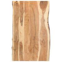 vidaXL Stolna ploča od masivnog bagremovog drva 100 x (50-60) x 3,8 cm