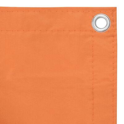 vidaXL Balkonski zastor narančasti 90 x 600 cm od tkanine Oxford