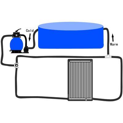 vidaXL Zakrivljeni solarni panel za grijanje bazena 110 x 65 cm