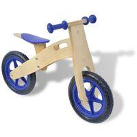 vidaXL Bicikl za vježbanje Drveni Plavi