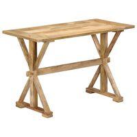vidaXL Blagovaonski stol od masivnog drva manga 140 x 70 x 76 cm