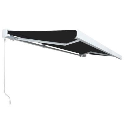 vidaXL Kazetna tenda na ručno uvlačenje 500 x 300 cm antracit